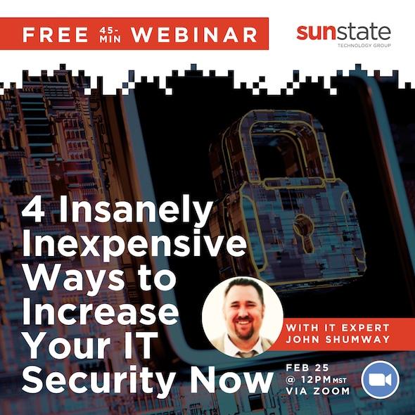 Webinar: IT Security Tips